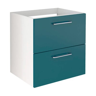 Insley 24 Single Bathroom Vanity Set Base Finish: Blue