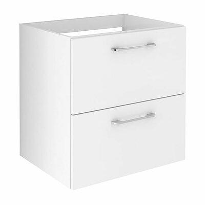 Insley 24 Single Bathroom Vanity Set Base Finish: White