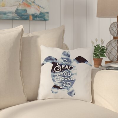 Corning Sea You Soon Throw Pillow Size: 16 H x 16 W x 3 D