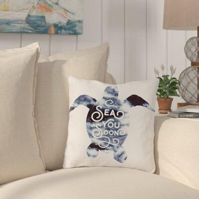 Corning Sea You Soon Throw Pillow Size: 18 H x 18 W x 3 D