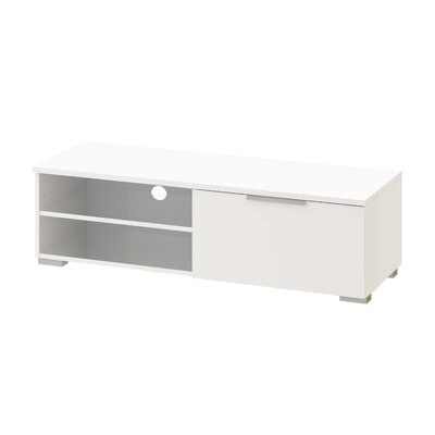 Rafael 45 TV Stand Color: White High Gloss