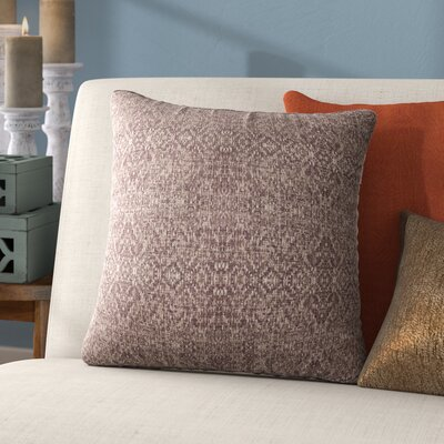 Dezirae Brown Throw Pillow Size: 24 H x 24 W x 6 D
