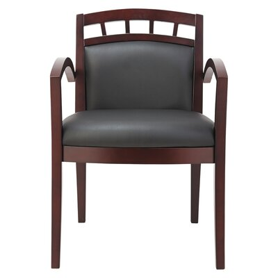 Chunn Reception Lounge 500 Series Arch Leather Guest Chair