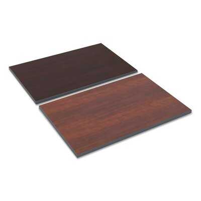 Kappel Reversible Laminate Table Top Color: Cherry, Size: 23.62 H x 35.37 W x 1 D