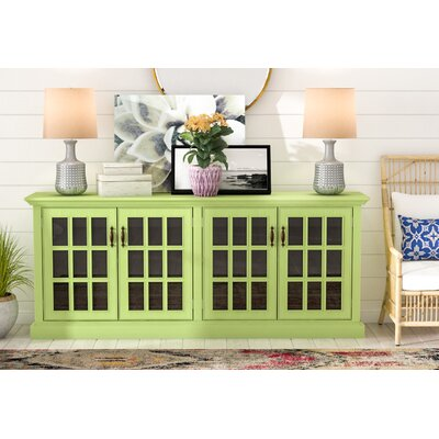 Dartmouth Traditional TV Stand Color: Sassy Olive