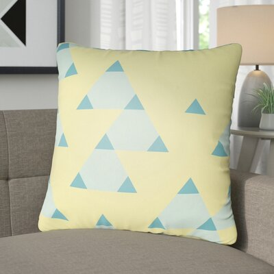 Walpole 100% Cotton Throw Pillow Color: Bright Yellow