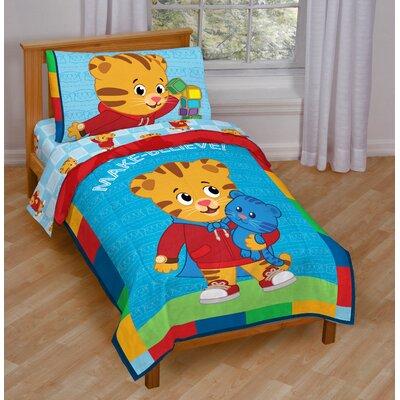 Daniel Tiger 4 Piece Toddler Bedding Set JF28097