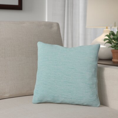 Danin Outdoor Throw Pillow Color: Pool, Size: Large