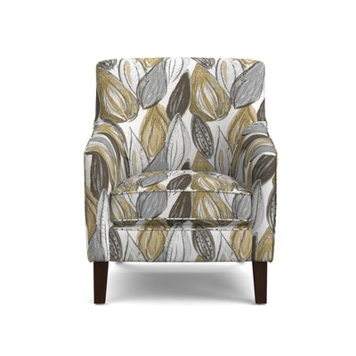 Meisner Armchair Upholstery: Yellow Leaf