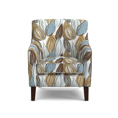 Meisner Armchair Upholstery: Blue Leaf