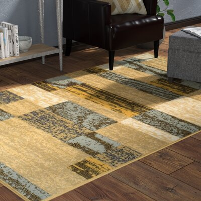 Audrey Superior on Beige Area Rug Rug Size: 4 x 6