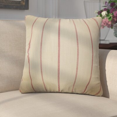 Egidio Stripes Cotton Throw Pillow