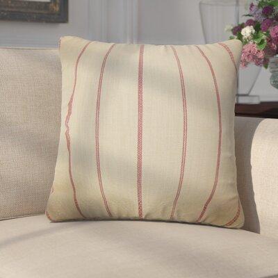 Egidio Stripes Cotton Throw Pillow