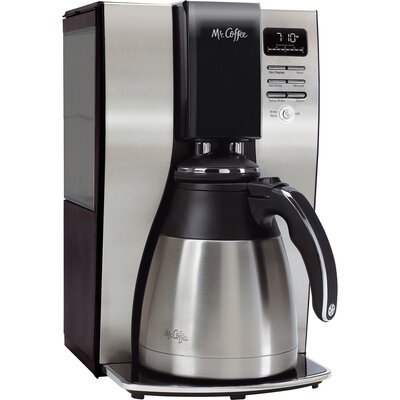 10 Cup Programmable Thermo Coffee Maker BVMC-PSTX91-RB