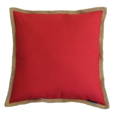 Geneva Square Cotton Throw Pillow