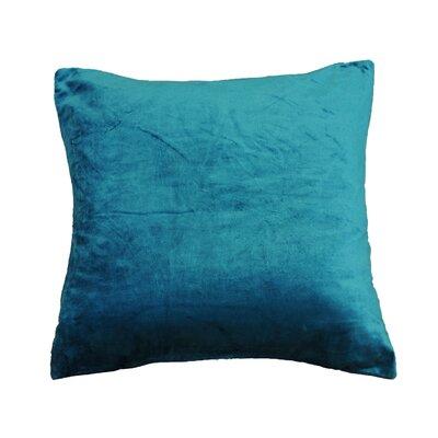 OHare Square Throw Pillow Color: Aqua
