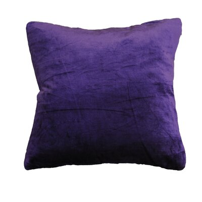 OHare Square Throw Pillow Color: Purple