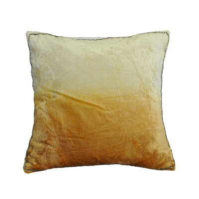 Nyquist Beads Edge Cotton Throw Pillow Color: Hummos