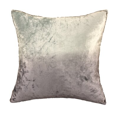 Nyquist Beads Edge Cotton Throw Pillow Color: Silver