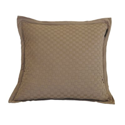 Kennard Honeycomb Texture Cotton Throw Pillow Color: Ginger Snap