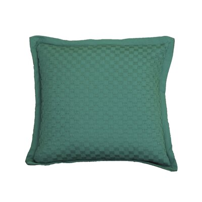 Kennard Honeycomb Texture Cotton Throw Pillow Color: Virdis