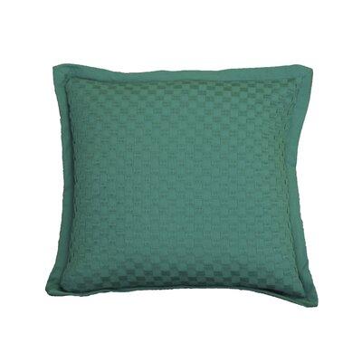 Kennard Honeycomb Texture Cotton Throw Pillow Color: Virdis