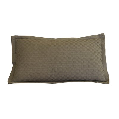 Kennington Honeycomb Texture Cotton Lumbar Pillow Color: Ginger Snap