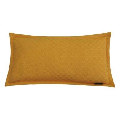 Kennington Honeycomb Texture Cotton Lumbar Pillow Color: Blazing Orange