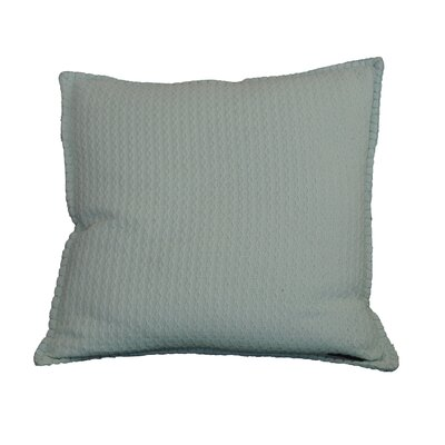 Kendrick Diamond Texture Cotton Throw Pillow Color: Bay