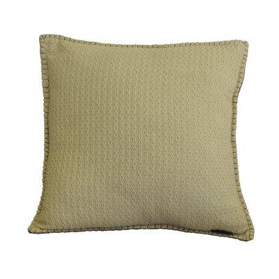 Kendrick Diamond Texture Cotton Throw Pillow Color: Frosted Almond
