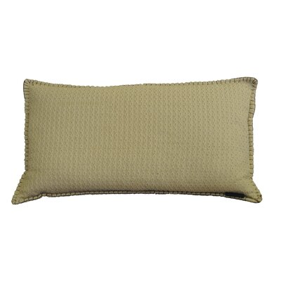 Kenilworth Diamond Texture Cotton Lumbar Pillow Color: Frosted Almond