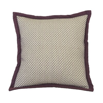 Joule Stitch Cotton Throw Pillow