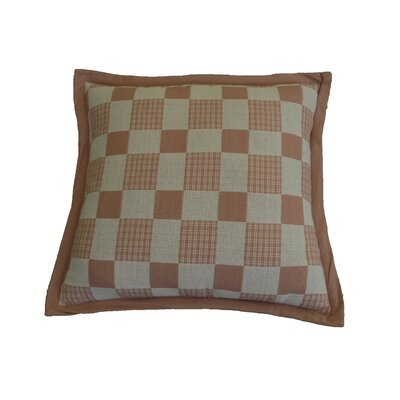 Festa Checker Cotton Throw Pillow