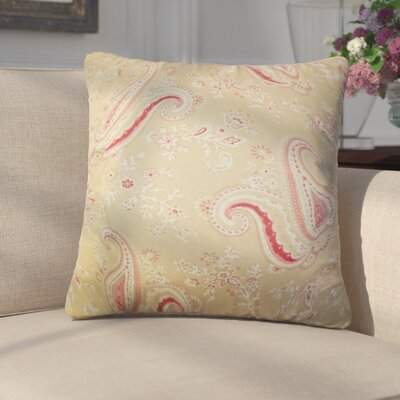 Fulvia Floral Cotton Throw Pillow