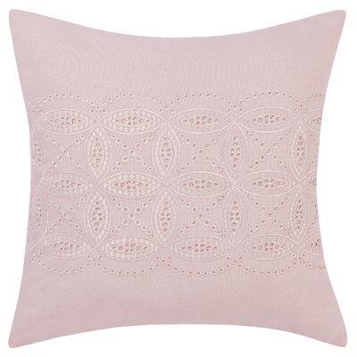 Annabella Cutwork Embroidery Cotton Throw Pillow