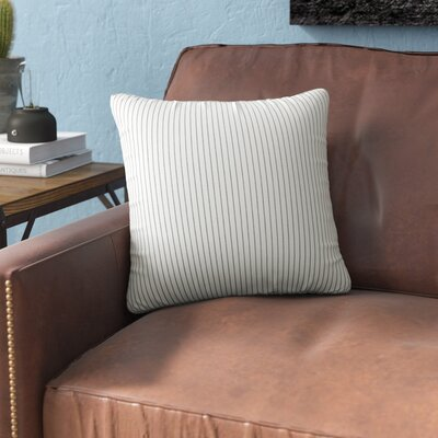 Galento Indoor Throw pillow Size: 26 H 26 W x 6 D, Color: Fog