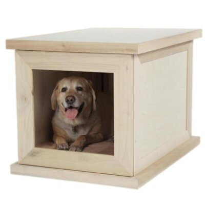 Smart Anxiety Relief Pet Crate Color: Natural DIY