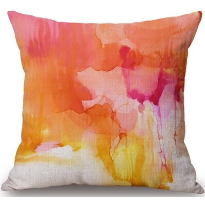 Gerrity Linen Throw Pillow
