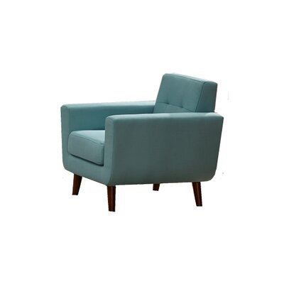 Willcox Fabric Armchair Upholstery: Aqua