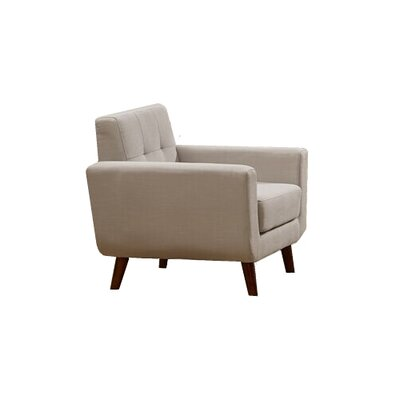 Willcox Fabric Armchair Upholstery: Gray