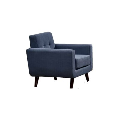 Willcox Fabric Armchair Upholstery: Smoke