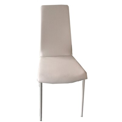 Kirtland Upholstered Dining Chair Upholstery Color: Light Gray