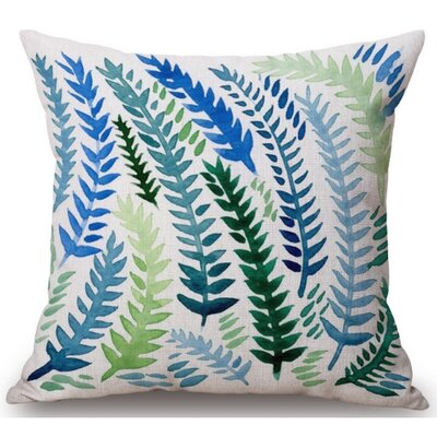Cater Fern Linen Throw Pillow
