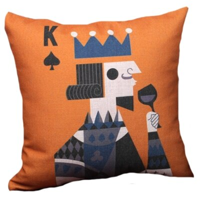 Kirwan King Linen Throw Pillow