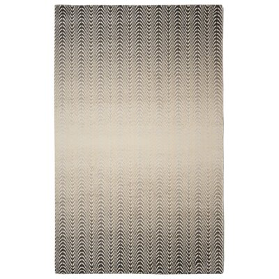 Victorine�Contemporary Modern Gray Area Rug Rug Size: Rectangle 76 x 96