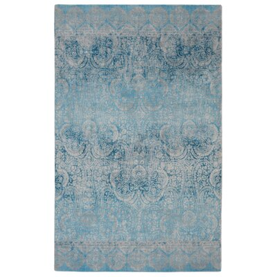 Walsall Contemporary Modern Blue Area Rug Rug Size: Rectangle 5 x 7