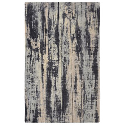 Labombard Contemporary Modern Gray/Beige Area Rug Rug Size: Rectangle 76 x 96