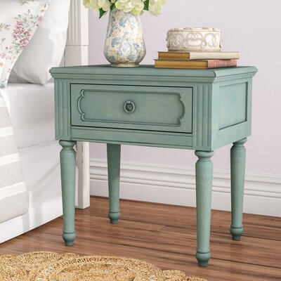 Virginie 1 Drawer Nightstand