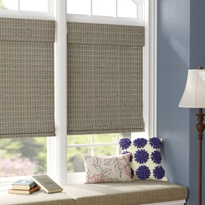 Room Darkening Roman Shade Blind Size: 35 x 64, Color: Driftwood