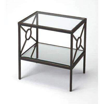 Kandice Metal End Table